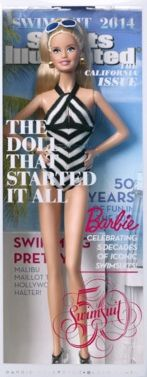 barbie doll 2014 swimsuit