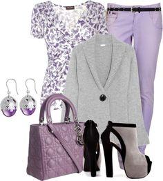 """Purple Jeans II"" by brendariley-1 on Polyvore"