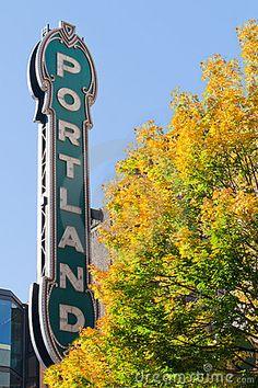 Portland Oregon Fall 2012