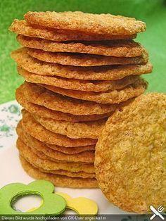 Finnische Haferkekse - anstelle von Weizenmehl einfach Buchweizen verwenden!