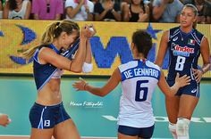 valentina arrighetti La nazionale di pallavolo femminile dell'Italia Italy women's national volleyball team