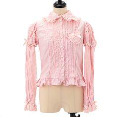 お袖取り外しブラウス  ロリィタファッション Angelic pretty | アンジェリックプリティ (4090)