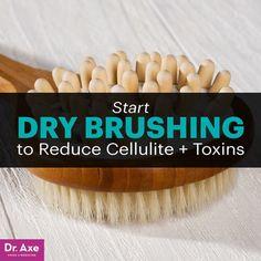 Dry brushing - Dr. Axe