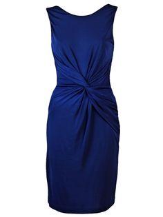 Halston Heritage twist front dress