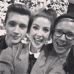 Troye, Zoe, and Tyler