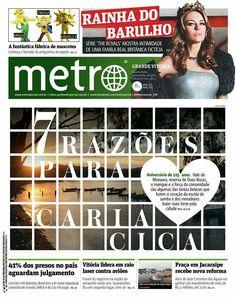 125 anos de Cariacica. Metro jornal Grande Vitória