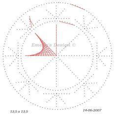 Pergamano pattern medallion