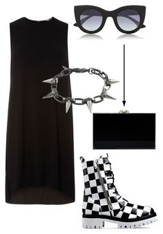 """""""Bloodstream !"""" by invisible9988 ❤ liked on Polyvore featuring Love Moschino, Dorothy Perkins, Thierry Lasry, Joomi Lim, Charlotte Olympia, polyvoreeditorial, PolyvoreWishlist, justlivedesign and yoinscollectio"""