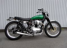KAWASAKI W650 STREET TRACKER M&M's motorcycle