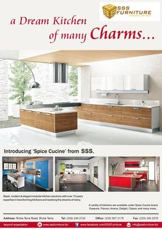 SSS Cucine - A Dream Kitchen of Many Charms... Tel: 249 2724 / 697 2178
