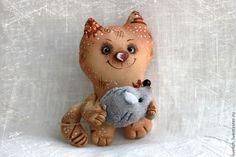 Котик - коричневый,котик,котик игрушка,ароматизированная игрушка,подарок на любой случай
