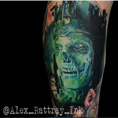 Unbelievable piece done by the very talented, @alex_rattray_ink