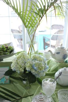 A Coastal Tea Party www.starfishcottageblog.com
