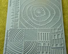 Clay Texture, Tiles Texture, Rubber Texture, Ceramic Texture, Gelli Printing, Screen Printing, Stamp Carving, Stencil Art, Stencils