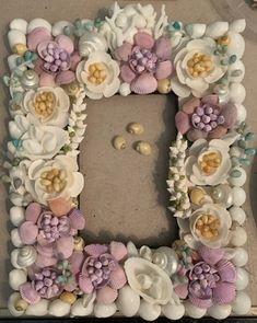 Seashell Frame, Seashell Crafts, Mobile Friendly Website, Shell Art, Sailors, Wood Boxes, Seashells, 4th Of July, Beach House