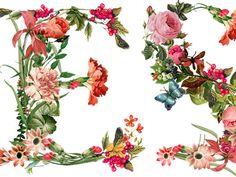 Floral typography by NinaHunter CestLaVie_02