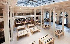 Apple store in France.