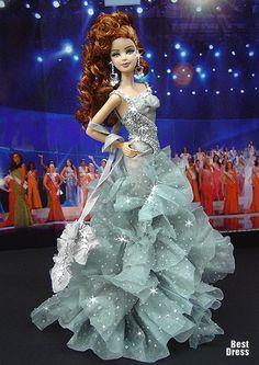 Miss Latvia (Dress Versace)