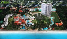 3D Visualization with Drone Image by Architectural Rendering Companies