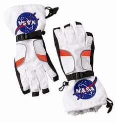Astronaut Costume Gloves  See more at  http://www.squidoo.com/neil-armstrong-first-man-on-the-moon#module161283113