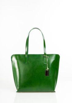 46c3c4ab159 Handtas Nerita (Groen) Italian Leather, Checking Account, Tote Bag, Purses,