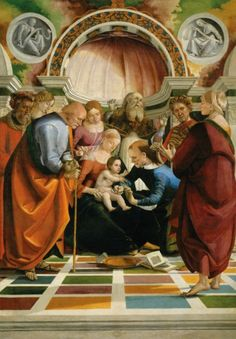 The Polyster Canvas Of Oil Painting 'Luca Signorelli The Circumcision ' ,size: 16 X 23 Inch / 41 X 58 Cm ,this High Resolution Art Decorative Canvas Prints Is Fit For Kitchen Gallery Art And Home Decor And Gifts Die Renaissance, Renaissance Kunst, Renaissance Artists, Renaissance Paintings, Italian Renaissance, Religious Paintings, Religious Art, Religious Images, Catholic Art