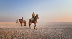 Saddle up with Africa Geographic Travel in the Makgadikgadi Salt Pans