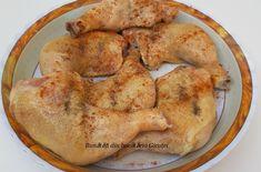 Pulpe de pui pe varza la cuptor - Bunătăți din bucătăria Gicuței Shrimp, Chicken, Meat, Food, Eten, Meals, Cubs, Kai, Diet