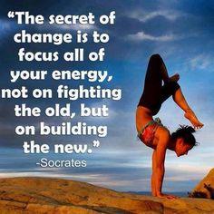 Focus your energy!