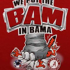 Bama crushing Auburn