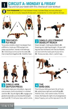 Intense all workout Circuit A