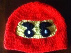 Free Lego Ninja hat pattern