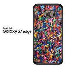 Graffiti_elements Samsung Galaxy S7 Edge Case