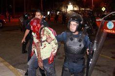 """En Mexico """"periodistas"""" se llenan la boca por la """"represión en Venezuela"""" y... ¿lo ocurrido ayer en #Acapulco?"""