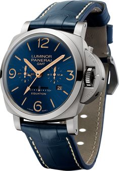 La Cote des Montres : La montre Panerai Luminor 1950 Equation Of Time 8 Days GMT…