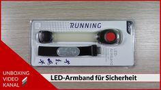 Unboxing Video über ein LED-Armband für mehr Sicherheit bei Sport und Freizeit #unboxingvideo #ledarmband #sicherheit