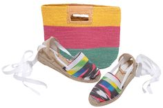 AMAZONA espadrilles made in Spain by www.espadrillesetc.com with TUNIS tote