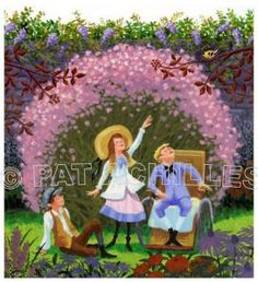 """My acrylic illustration of Frances Hodgson Burnett's classic story, """"The Secret Garden"""" Creative Communications, Garden Illustration, Classical Music, Note Cards, Holiday Gifts, Prints, Xmas Presents, Index Cards, Classic Books"""