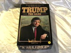 Learn Trump biz strategy - the fun way! RARE 1989 DONALD TRUMP THE GAME ORIGINAL 1980s MILTON BRADLEY BOARD GAME BUSINESS CASH FINANCE MONEY INVESTMENT - on eBay! $4.98