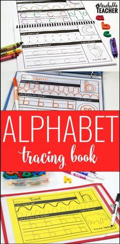 Alphabet tracing pri