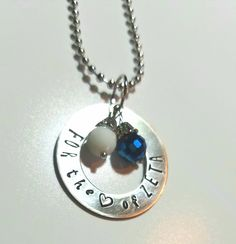 For the Love of Zeta open circle sorority necklace by SisterBlu on Etsy