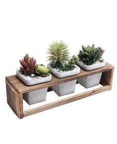Tento pin objevil(a) pavel šikula. Wooden Planters, Planter Boxes, Flower Planters, Flower Pots, Diy Wood Projects, Wood Crafts, House Plants Decor, Wood Vase, Diy Home Crafts