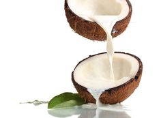 Coconut milk - make hair stronger and healthier.