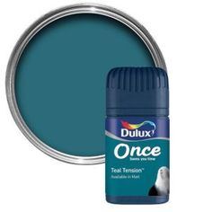 Dulux Teal Tension Matt Emulsion Paint 50ml Dulux Teal Tension Matt Emulsion Paint 50ml Tester Pot.This Teal tension emulsion paint has been specially designed to give a stunning finish to your walls ceilings. Simply apply one coat with a bru http://www.MightGet.com/april-2017-1/dulux-teal-tension-matt-emulsion-paint-50ml.asp