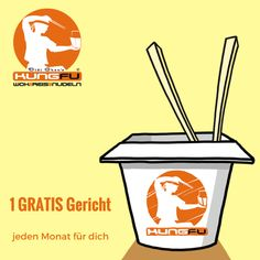 Jeden #Monat ein Gericht #GRATIS — KungFu - Wok | Reis | Nudeln