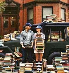 Find someone who loves books as much as you do - and hold onto them.