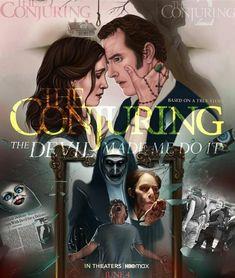 The Conjuring Annabelle, Lorraine Warren, Patrick Wilson, Vera Farmiga, Swan Queen, Nun, Horror Movies, True Stories, Harry Potter