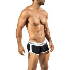 Joe Snyder Activewear Boxer // Black (Small // 28-31 US)