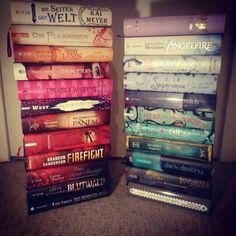 Lest ihr gerne Reihen? Ich anscheinend schon, denn das sind meine zweiten Bände ....
