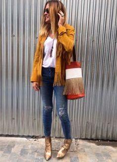 Look de Hoy . Look estilo Bohemio 2016.